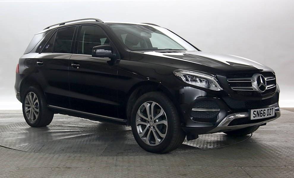 Mercedes GLE - Cargiant
